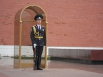 Guardian of the Eternal Flame, behind the Kremlin