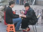 Fortune-teller in the Arbat