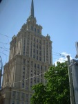 one of the seven Stalinist skyscrapers