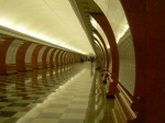 corridor in the Metro