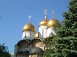 Kremlin cathedral domes