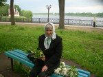 Lily of the valley seller, who inspired my portrayal of Mrs Feshina