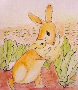 Beattie's rabbit family