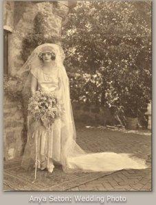 anya seton wedding