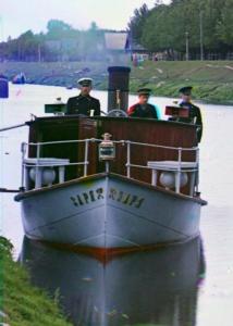 sergei prokudin river boat