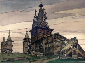 bilibin wooden church