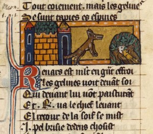 from Roman de Renart, medieval French fabliau