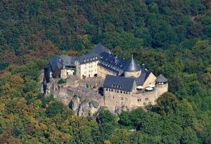 Schloss Waldeck, home of the Waldeck family