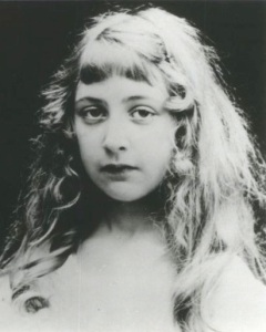 Agatha Christie as a child