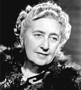 Agatha Christie in her later years
