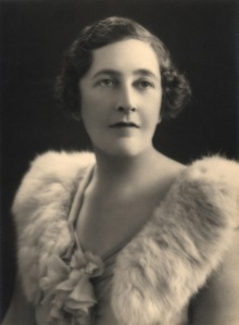 Agatha Christie as a young woman.