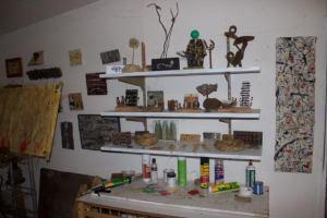 Tony Sevil's studio