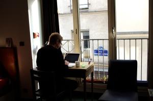 John at work in the studio