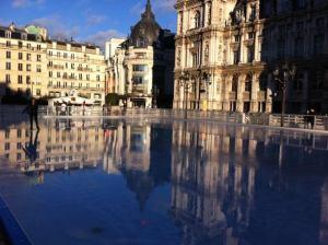 Hotel de Ville skating rink