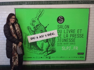 Ursula in Paris Salon du Livre