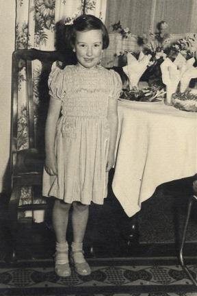 Hazel, aged 6