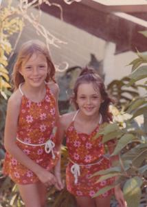 Me(left) and my sister Kate(right)