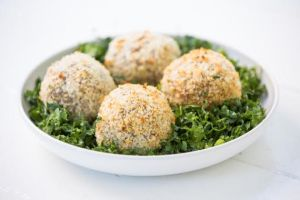 crisp coated scotch eggs