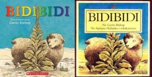Bidibidi in English and Maori editions
