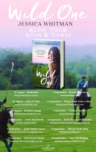 Wild One Blog Tour poster