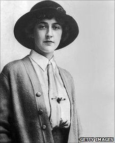 Agatha Christie in 1926