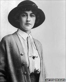 Agatha Christie in 1926